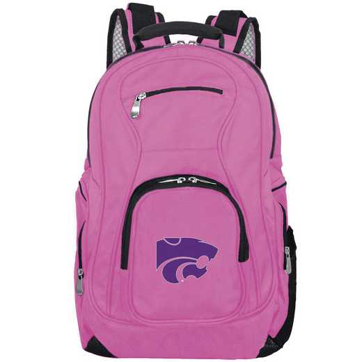 CLKSL704-PINK: NCAA Kansas State Wildcats Backpack Laptop